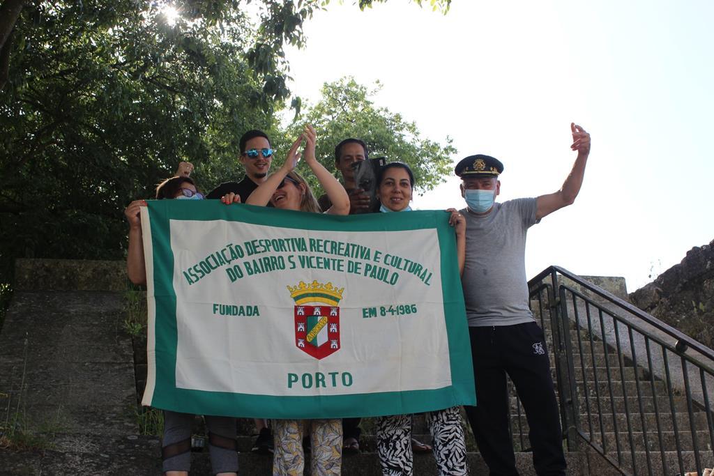 Encontro de antigos moradores do bairro S. Vicente de Paulo. Foto: DR