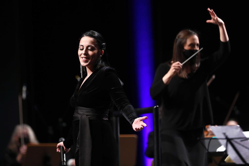 A fadista Sara Correia é uma das candidatas aos Grammys. Foto: José Sena Goulão/Lusa