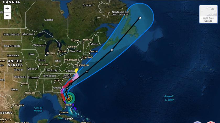 Fonte: National Hurricane Center