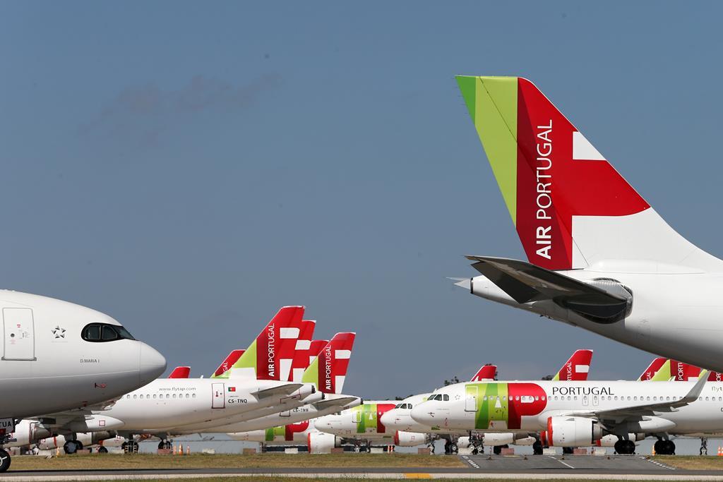 Aeroporto Humberto Delgado. Foto: Manuel de Almeida/ EPA