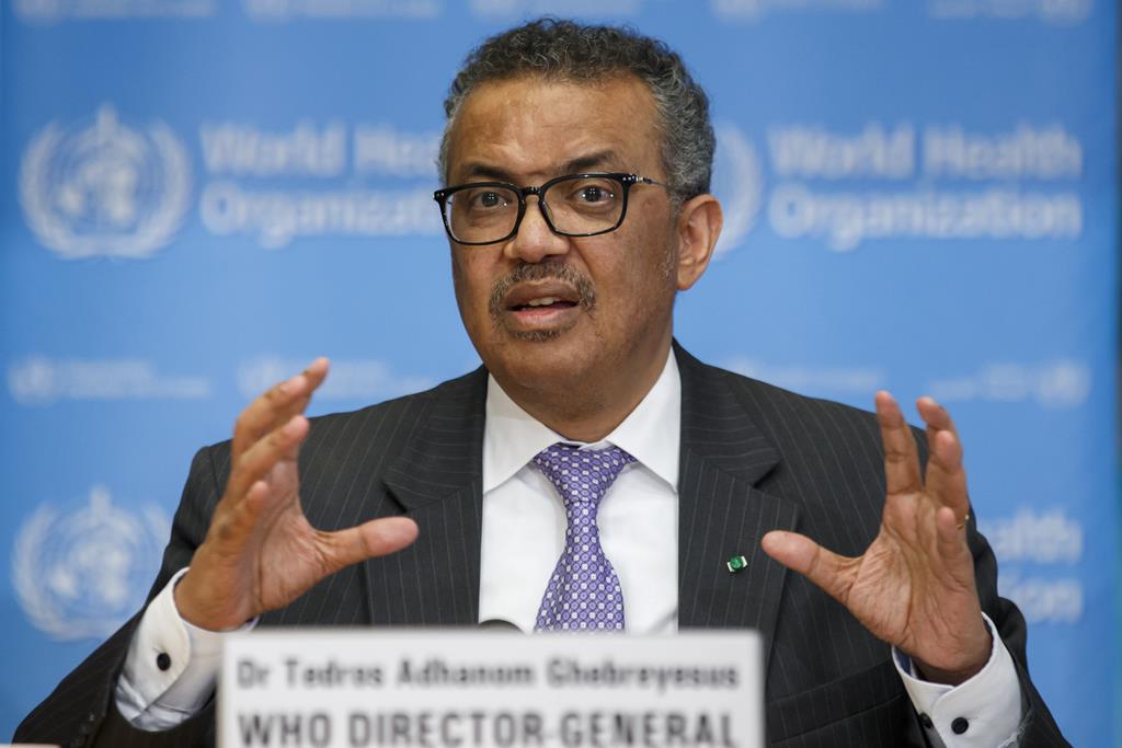Tedros Adhanom Ghebreyesus - diretor-geral da OMS Foto: Salvatore di Nolfi/EPA