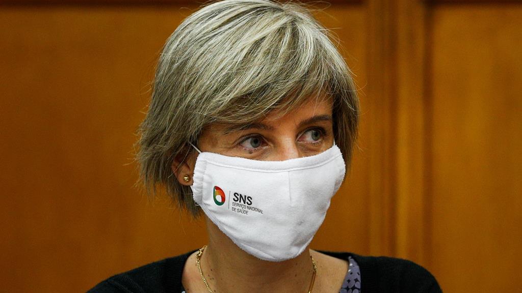 Marta Temido avança números da recuperação das consultas no Parlamento. Foto: António Cotrim/Lusa