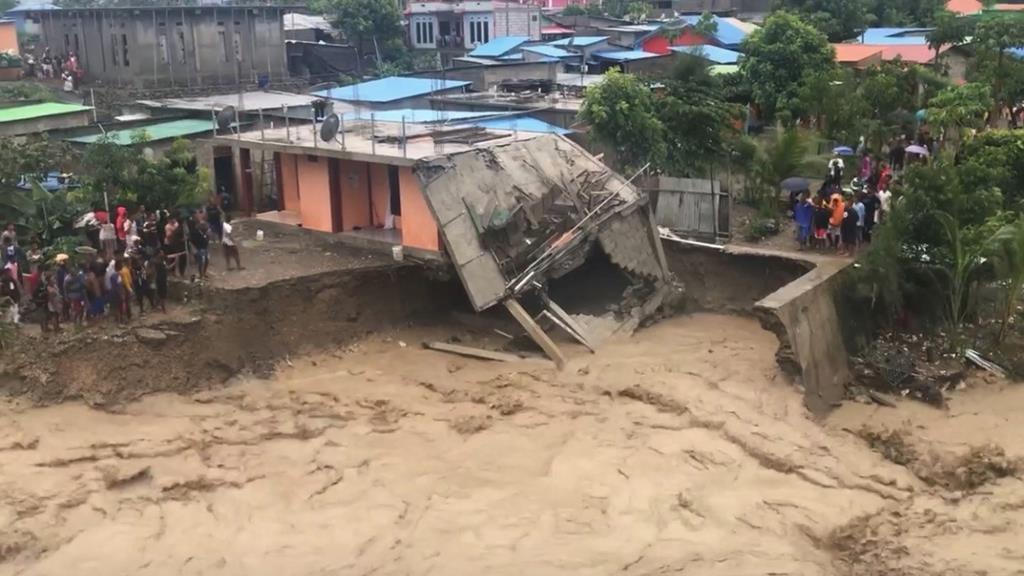 Fortes chuvas estão a provocar derrocadas em Timor-Leste. Foto: Janito DF Afonso/Reuters