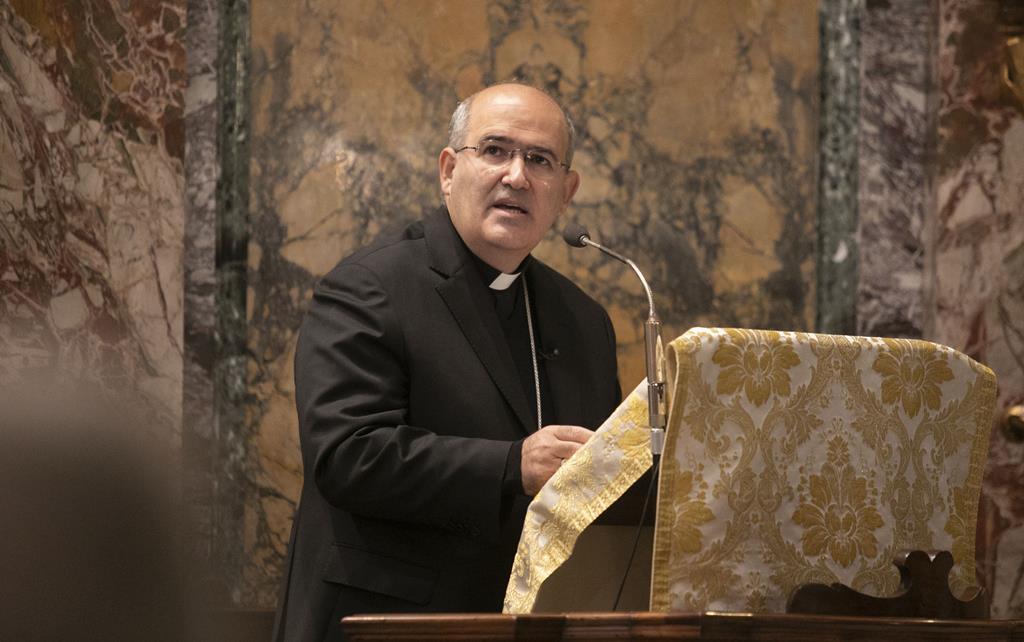D. Tolentino de Mendonça em Roma. Foto: Inês Rocha/RR