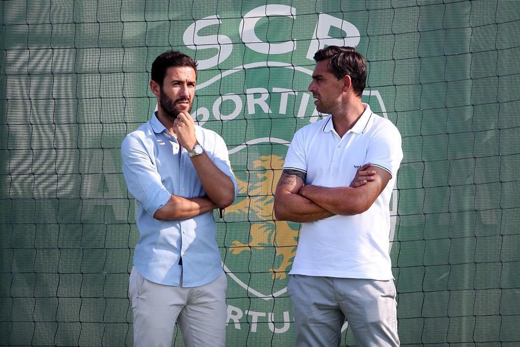 Hugo Viana e Beto. Foto: Sporting CP (arquivo)