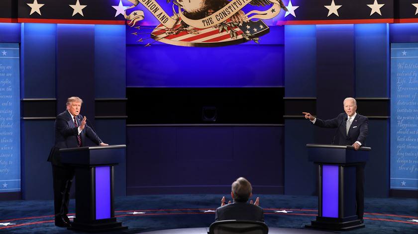 Eleitorado americano dividido entre Trump e Biden também em termos religiosos. Foto: Jim Lo Scalzo/EPA