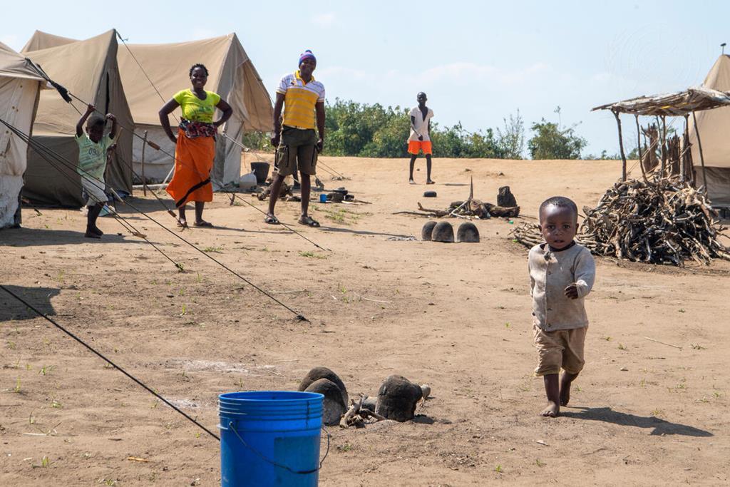População faz das escolas locais de abrigo. Foto: Nações Unidas
