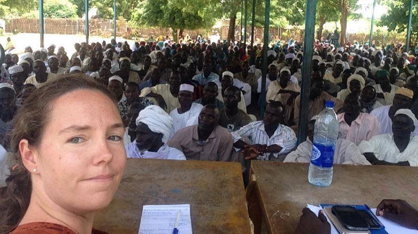 Joana Gomes, de Portugal até ao Chade, agora para Roma. Foto: Facebook Joana Gomes