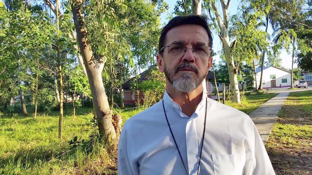 D. Luiz Fernando Lisboa, bispo de Pemba, Moçambique. Foto: Fundação Fé e Cooperação