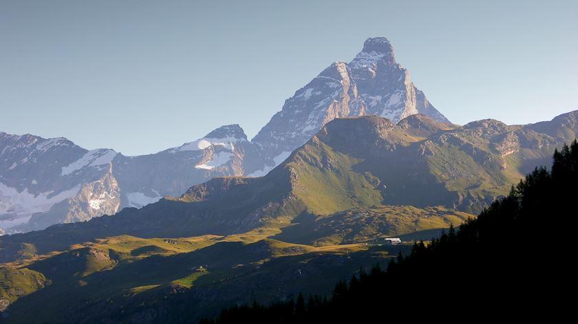 A montanha Matterhorn, em Valais, Suíça. Foto: Cortomaltese/Wikipedia