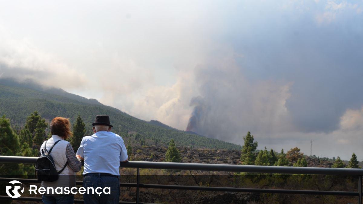 """É """"muito pouco provável"""" que as cinzas do vulcão das Canárias afetem a Madeira"""