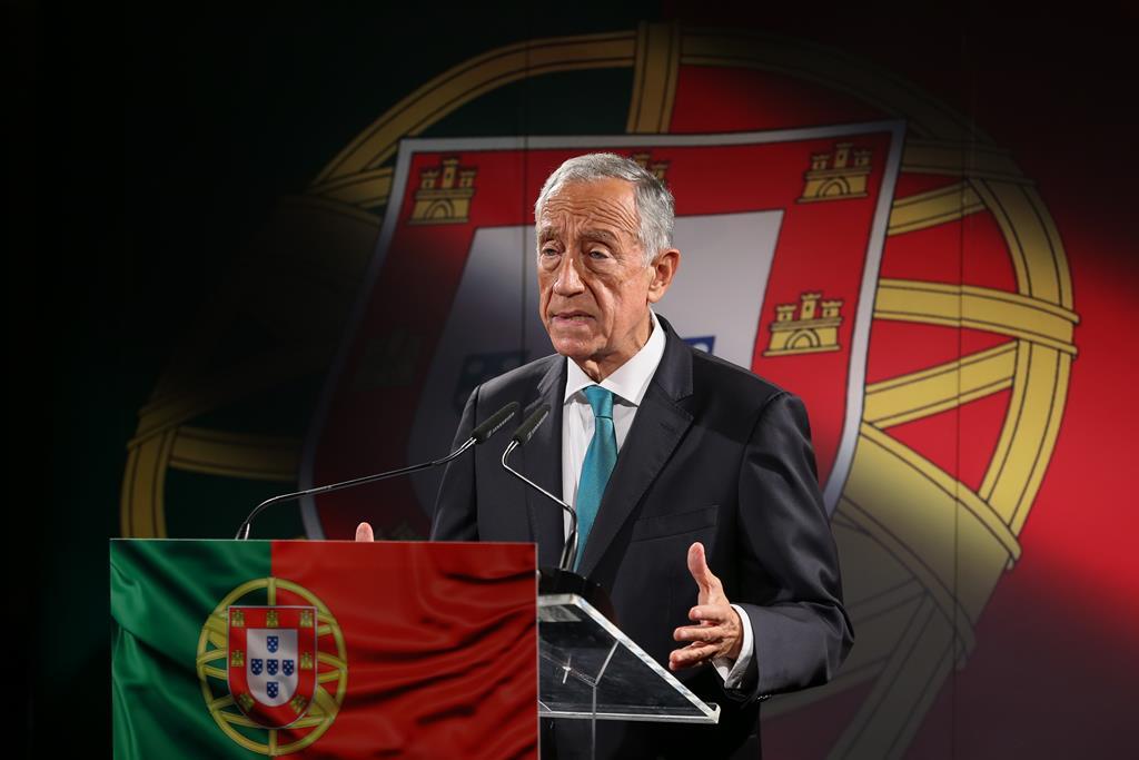 Marcelo segue a tradição de outros Presidentes. Foto: Manuel de Almeida/Lusa